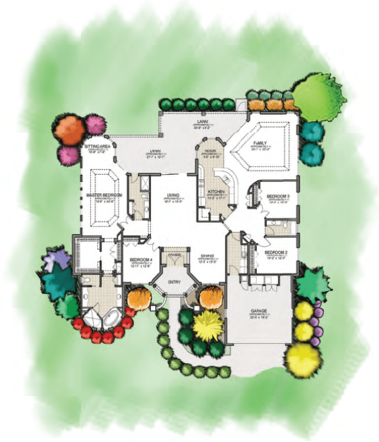 Floor plan of the Villages of St Augustine project