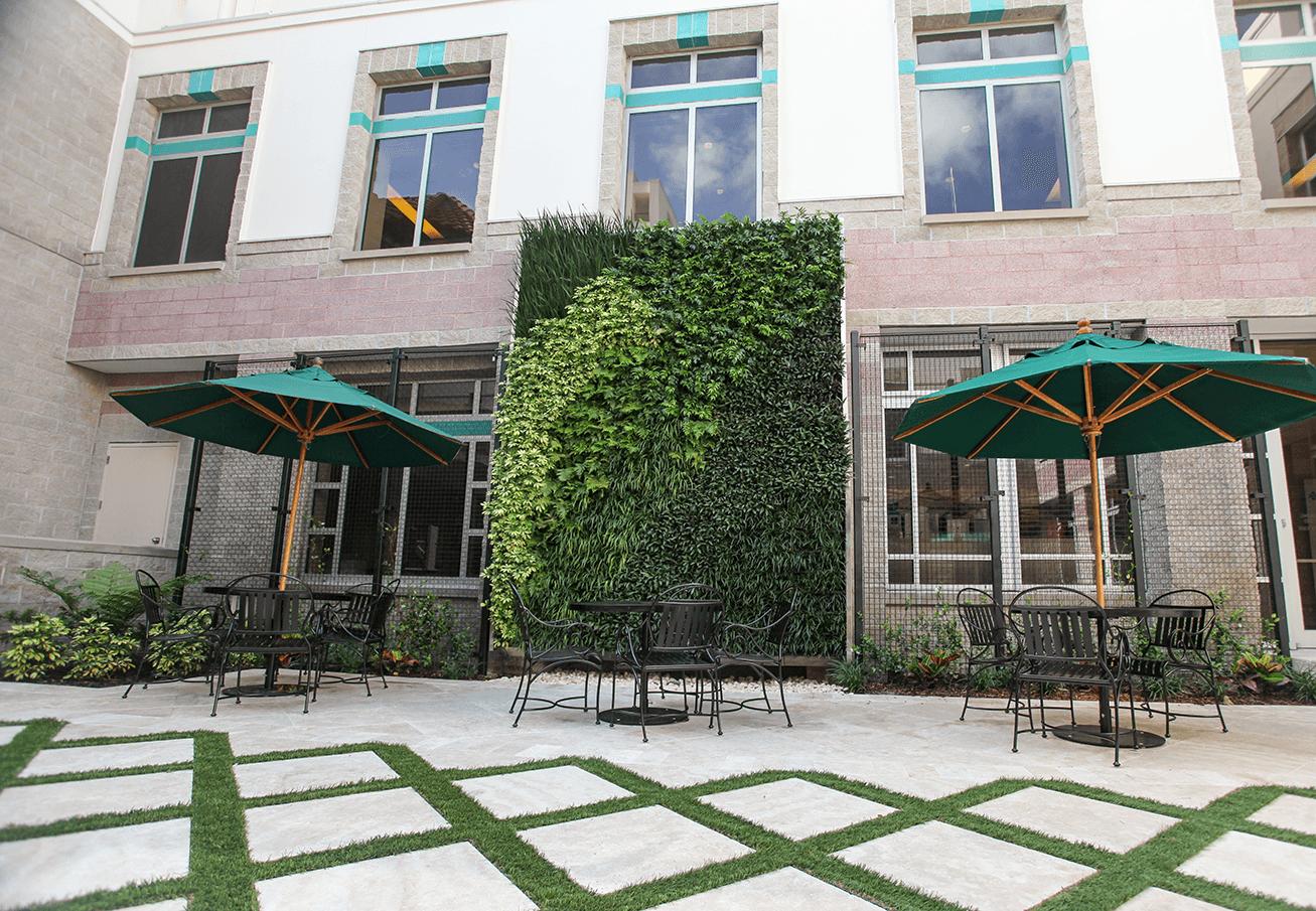 Flagler Hospital Courtyard
