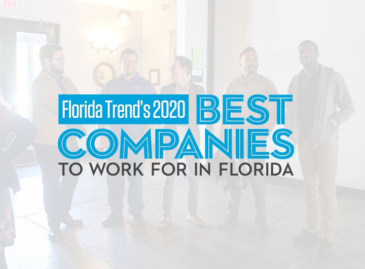 Florida Trend 2020s best companies to work for in Florida logo