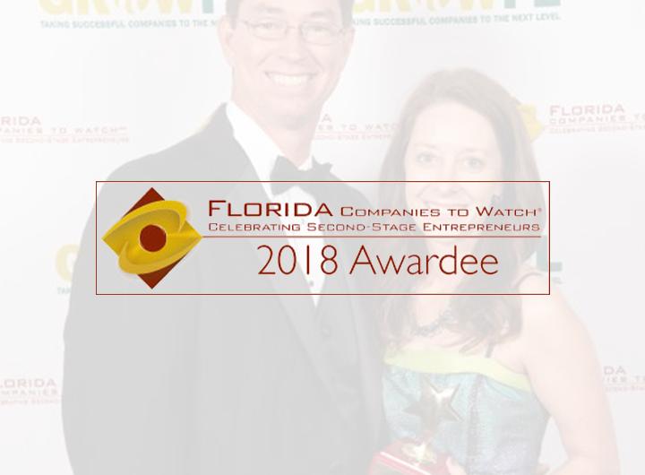 Florida companies to watch 2018 awardee logo