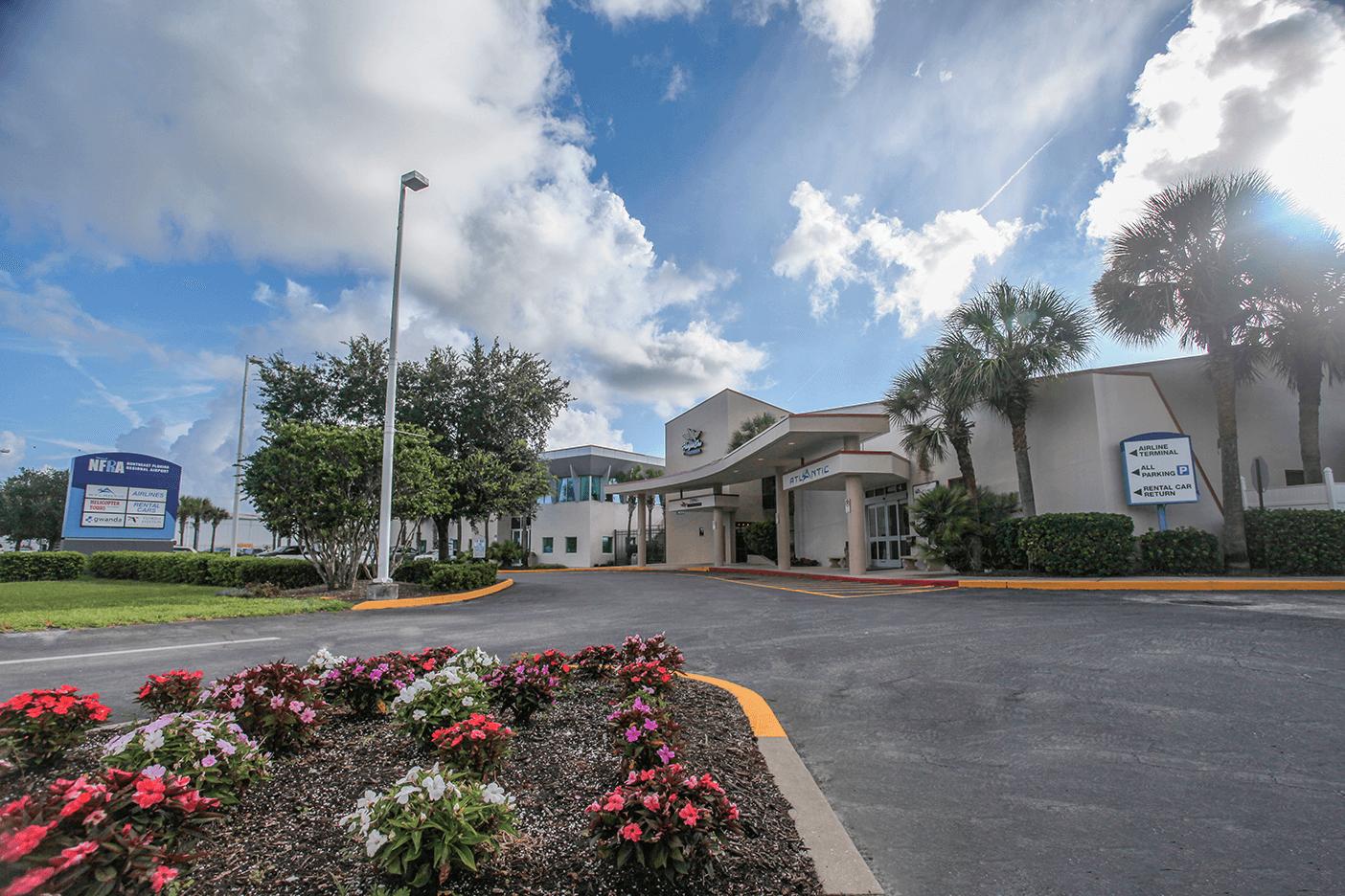 Northeast Florida Regional Airport exterior