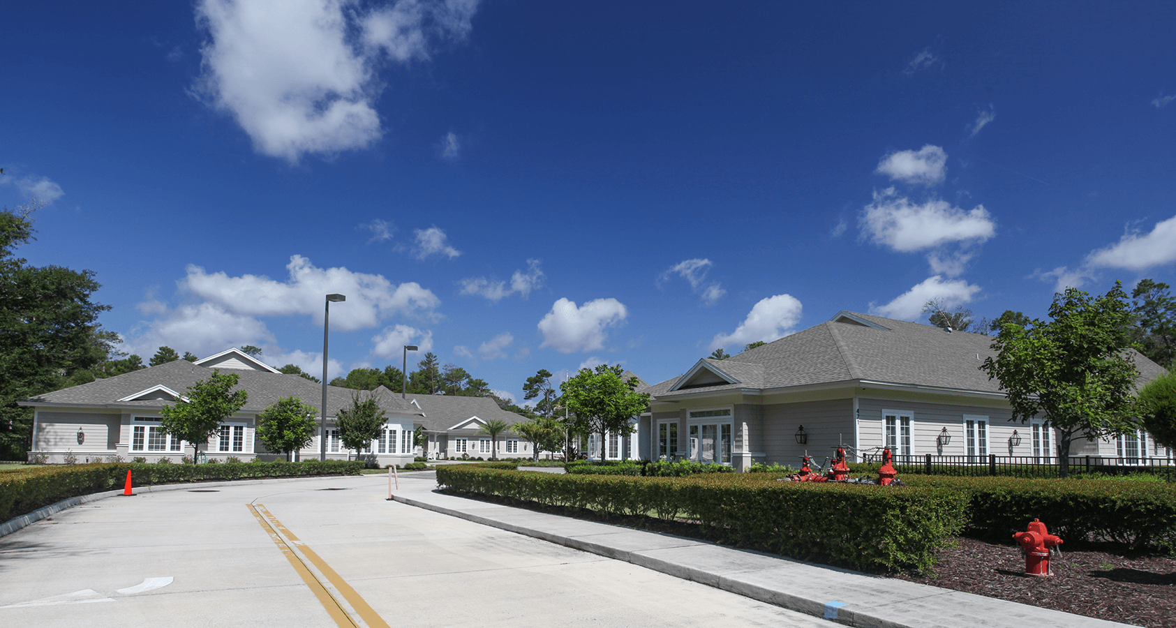 Entrance to Riverside cottages subdivision