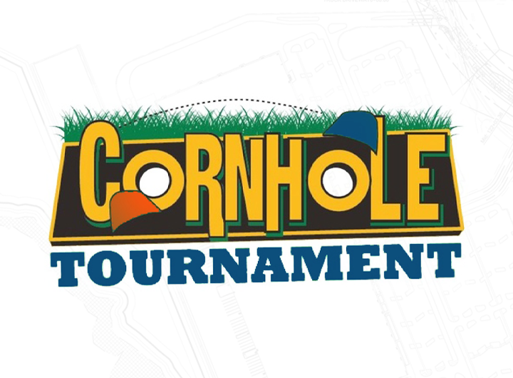 UNF Cornhole tournament logo
