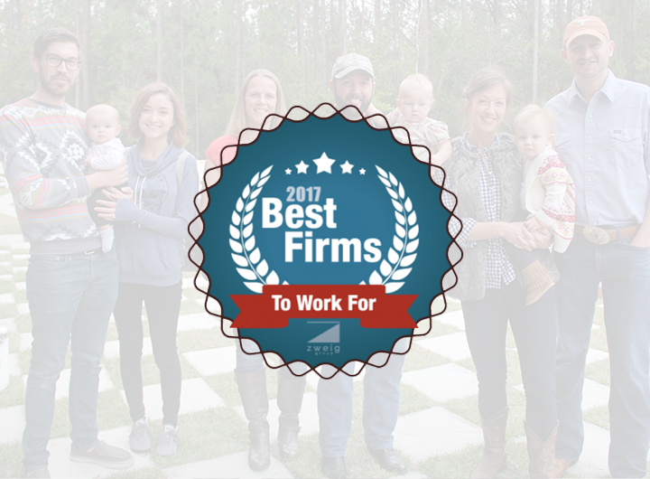 2017 Best Firms to work for Zweig group logo