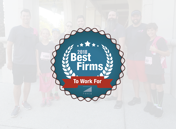 2018 Best Firms to work for logo