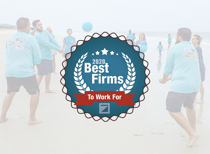 2020 Best Firms to work for logo