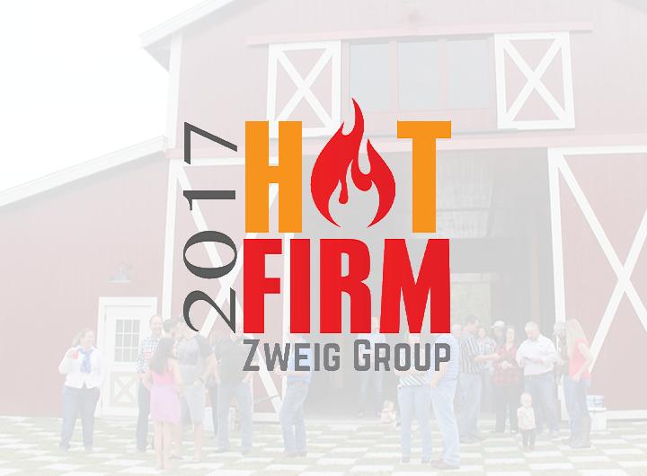 2017 Hot Firm Zweig Group logo