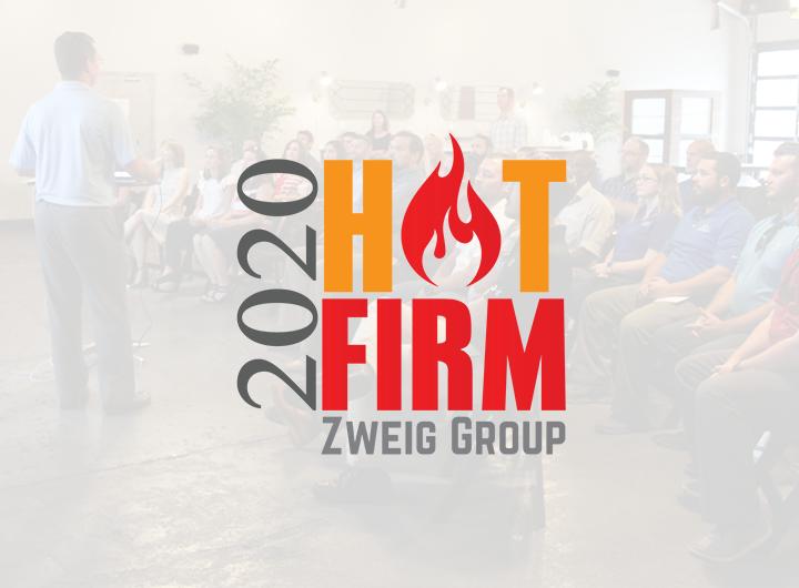 2020 Zweig Group Hot Firm logo