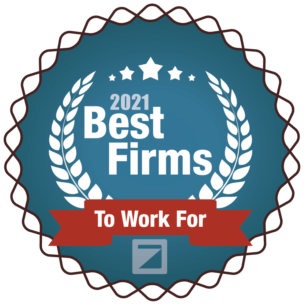 2021 Best Firms to work for logo